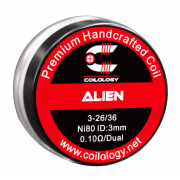 Coilology Handmade Alien Ni80 0,11 Ohm 3-26/36